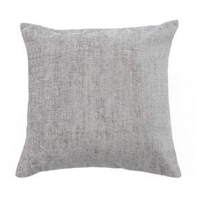 Chenille Grey Cushion