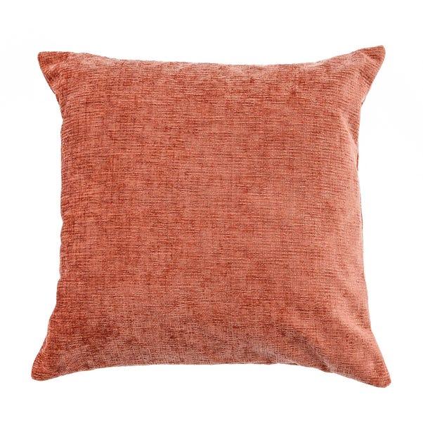 Chenille Cushion Rust (Orange) undefined