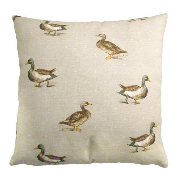 Ducks Cushion Cover Multi Coloured