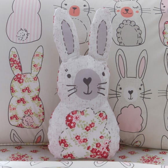 Katy Rabbit 3D Cushion Pink