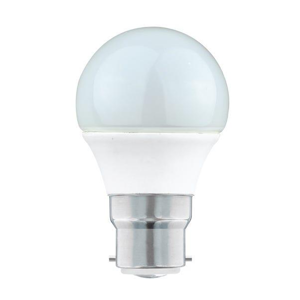 Dunelm 5.5 Watt BC Pearl LED Round Bulb Clear