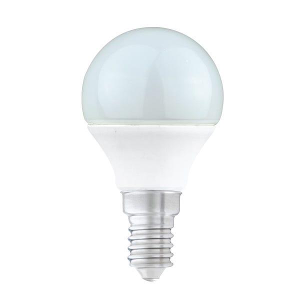 Dunelm 5.5 Watt SES Pearl LED Round Bulb Clear