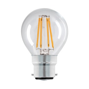 Dunelm 4 Watt BC LED Filament Round Bulb