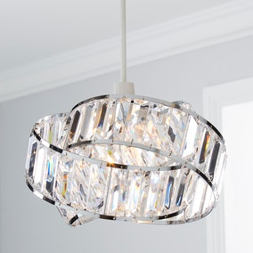 Lilia Acrylic Clear Easy Fit Pendant