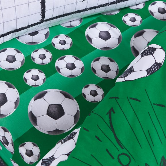 Football 25cm Fitted Sheet  undefined