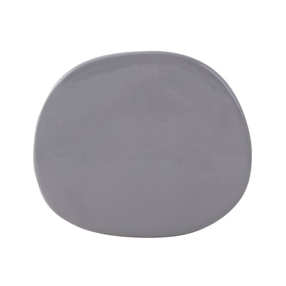 Pebble Shape Coasters Grey