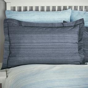 Halton Blue Oxford Pillowcase