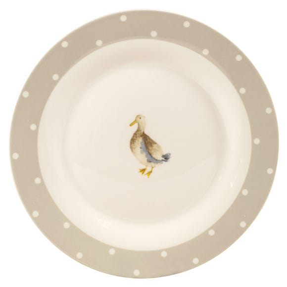 Jenny Dinner Plate White