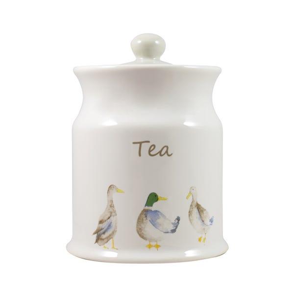 Jenny Tea Canister White