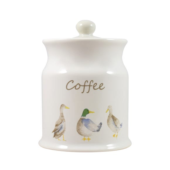 Jenny Coffee Canister White