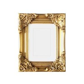 "Gold Dorma Swept Photo Frame 7"" x 5"" (18cm x 12cm)"