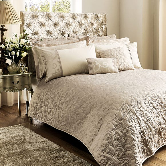 Lucia Natural Bedspread  undefined
