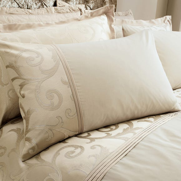 Lucia Natural Housewife Pillowcase Natural