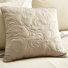 Lucia Natural Square Cushion