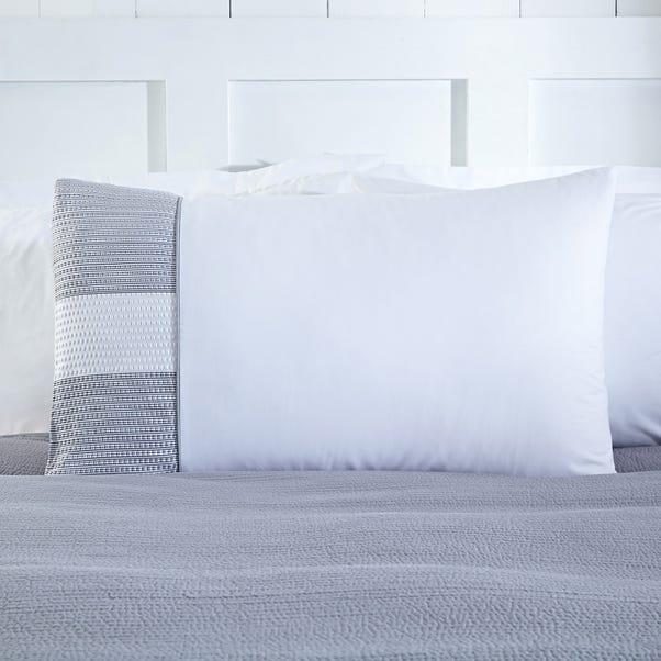 Harper Grey Housewife Pillowcase Grey