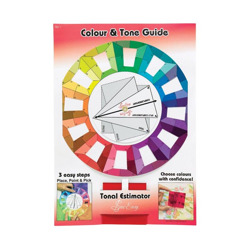 Photo of Colour wheel with tonal estimator clear