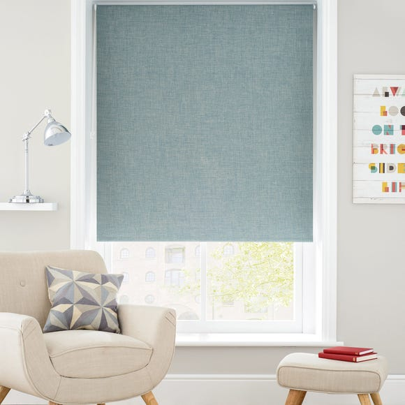 Verona Teal Blackout Roller Blind  undefined