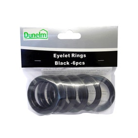 Pack of 6 Eyelet Rings