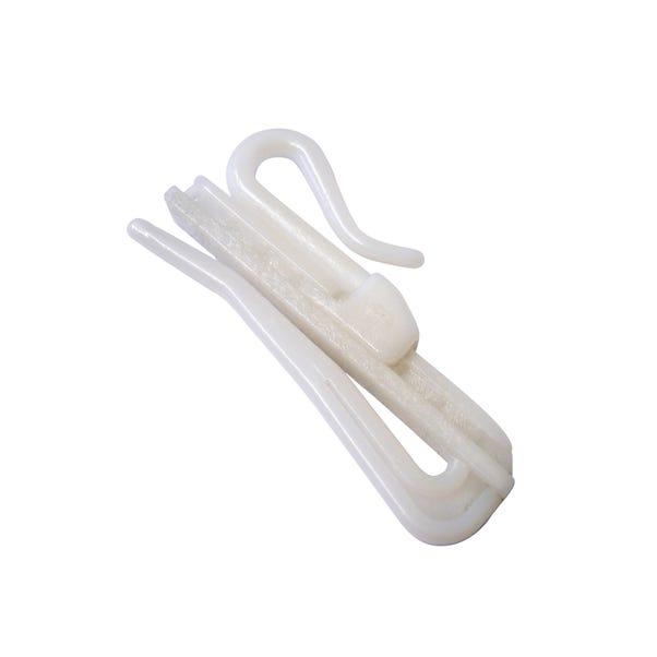 Pack of 20 Adjustable Curtain Hooks  undefined
