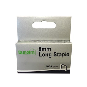 8mm Long Staple Pack