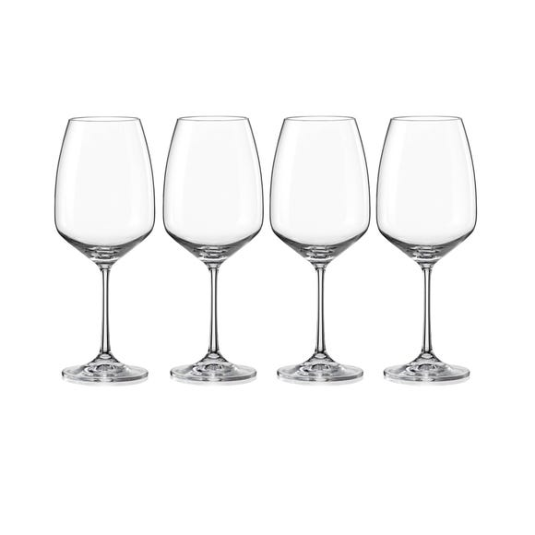 Dorma Set of 4 Cambridge Wine Glasses Clear