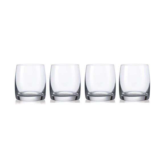 Dorma Set of Four Cambridge Tumblers Clear