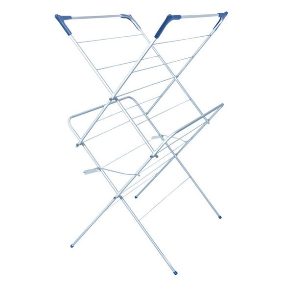 White 2 Tier Room Airer White