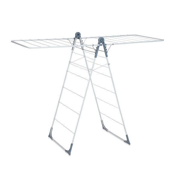 Utility Room Wing Airer and Sock Hanger Silver