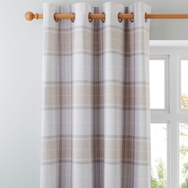 Dorma Sherbourne Natural Eyelet Curtains  undefined
