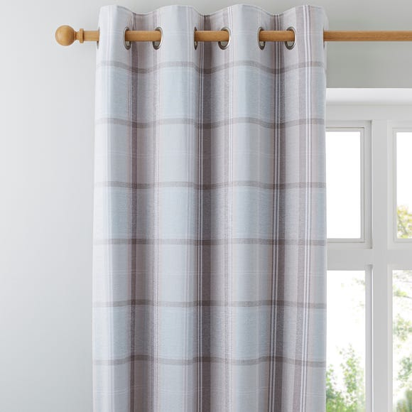 Dorma Sherbourne Duck Egg Eyelet Curtains  undefined