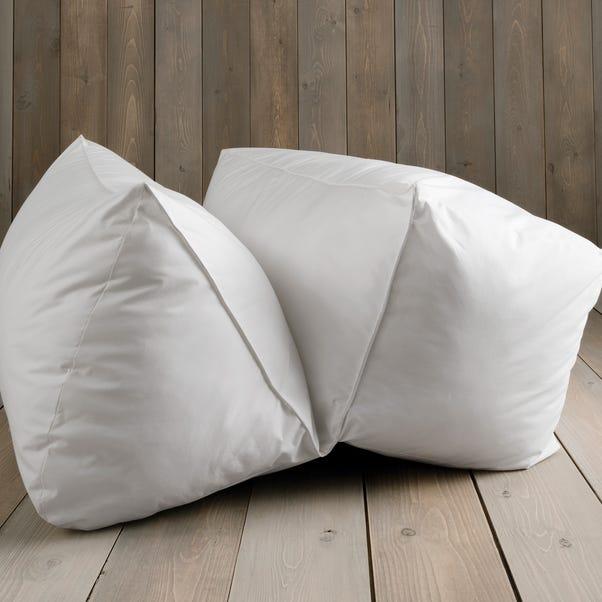 Non Iron Easy Living White Pillowcase White