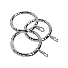 Pack of 12 Holford Curtain Rings