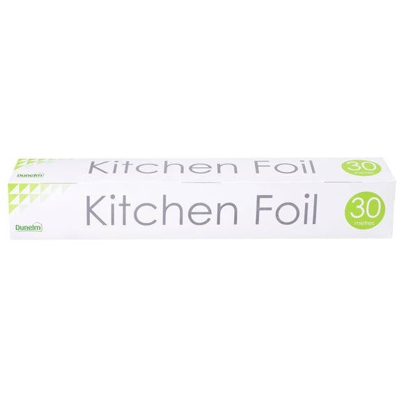 Dunelm Kitchen Foil Silver undefined