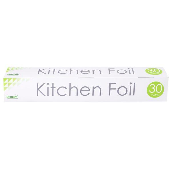 Dunelm Kitchen Foil Silver
