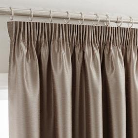 Montana Mink Pencil Pleat Curtains