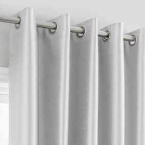 Montana Silver Eyelet Curtains