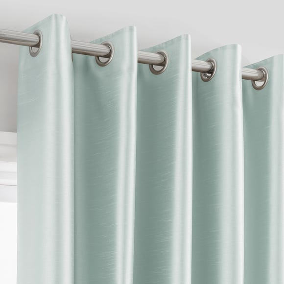 Montana Duck-Egg Eyelet Curtains  undefined