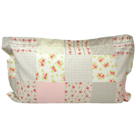Katy Rabbit Oxford Pillowcase Pink