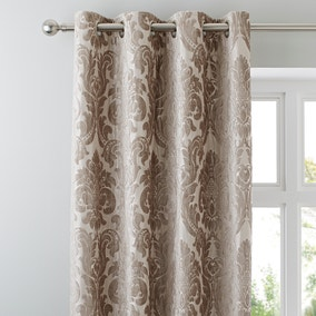 Versailles Natural Eyelet Curtains