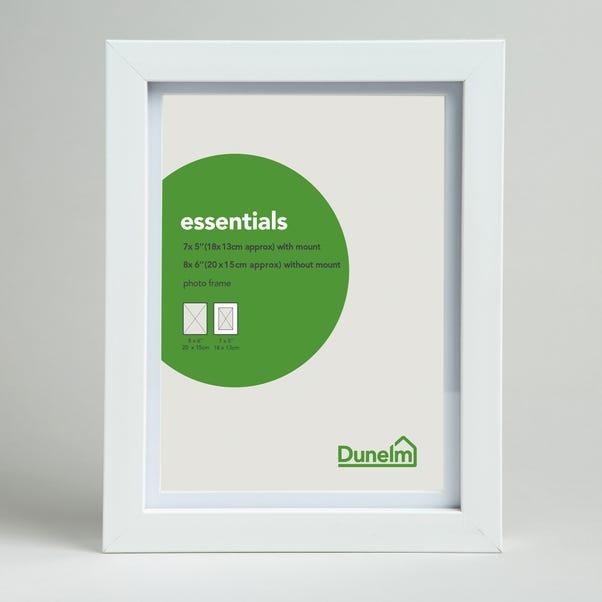 "Essentials Photo Frame 7"" x 5"" (18cm x 13cm) White"