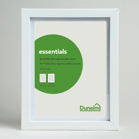 "Essentials Photo Frame 8"" x 6"" (20cm x 15)"