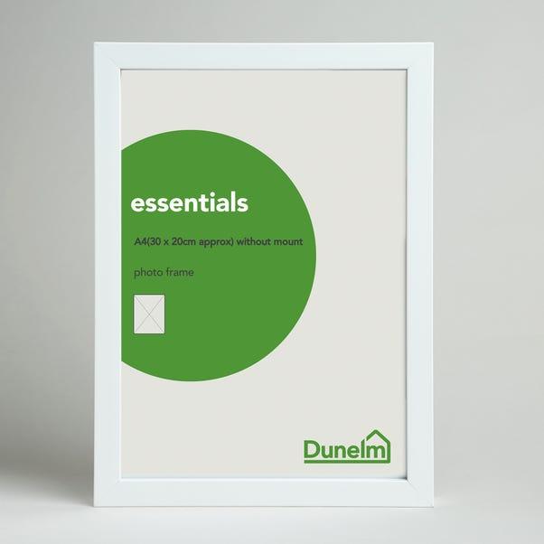 """Essentials Box Frame 12"""" x 8"""" (30cm x 21cm) White undefined"""