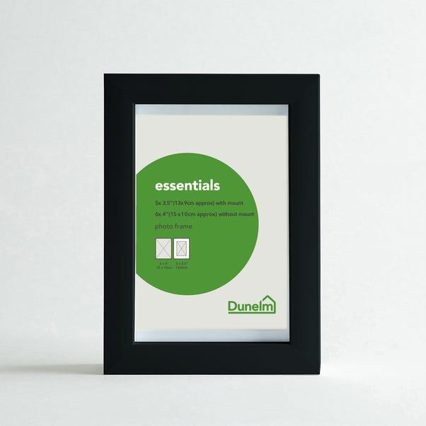 "Essentials Photo Frame 5"" X 3.5"" (13cm x 9cm) Black"