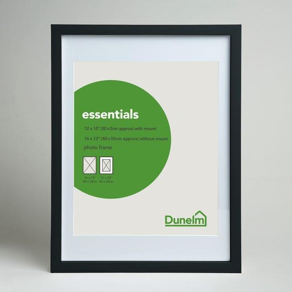 "Essentials Photo Frame 12"" x 10"" (30cm x 25cm) Black"