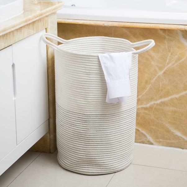 Rope Laundry Bag White
