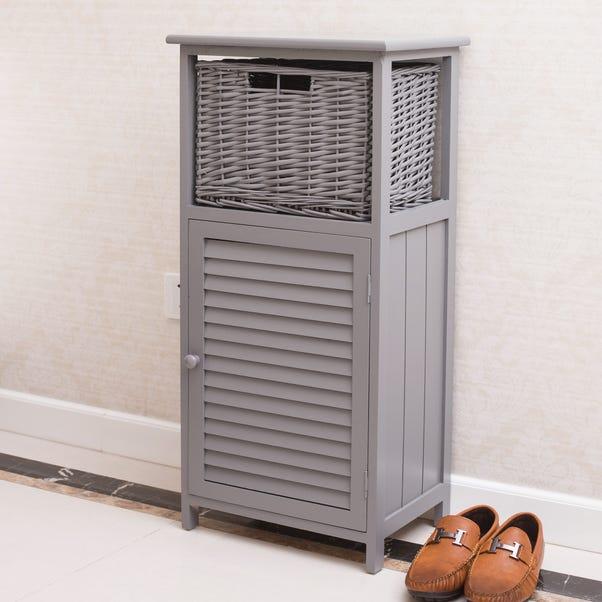 Grey Storage Unit Grey