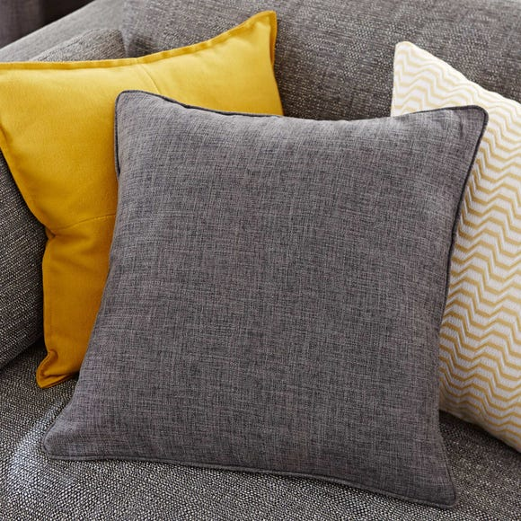 Vermont Charcoal Cushion Charcoal
