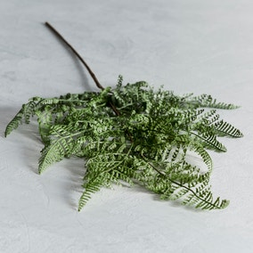 Artificial Asparagus Fern Green Single Stem Stem 24cm