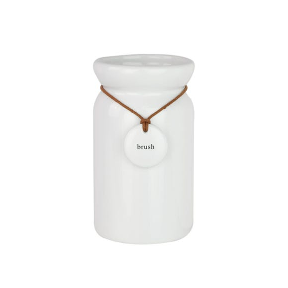 Hang Tag Tumbler White