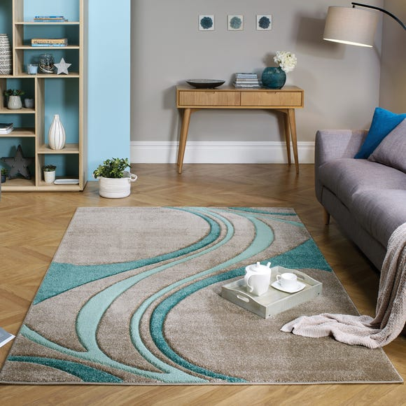 Mirage Rug Mirage Teal (Blue) undefined